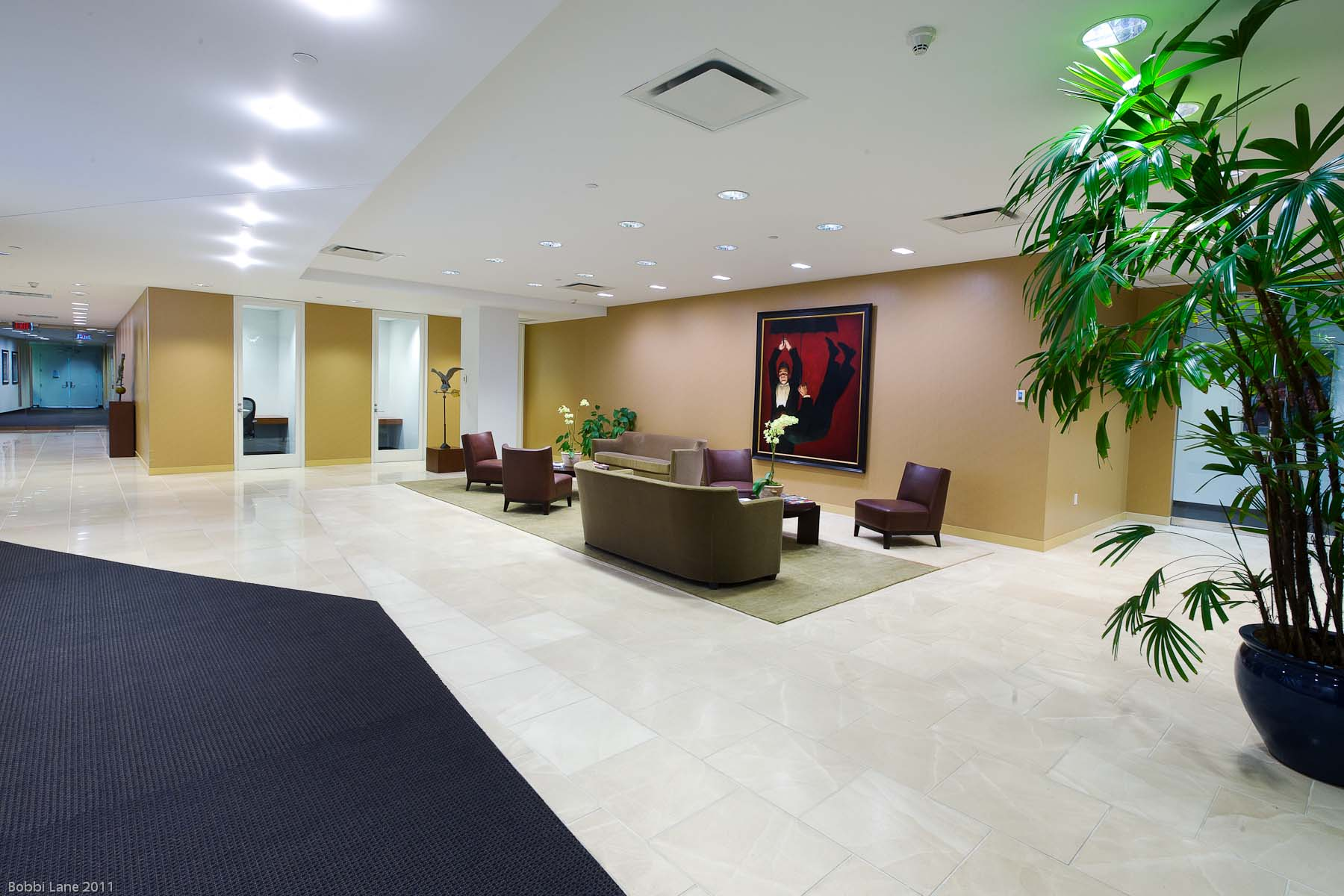 14-Executive office lobby